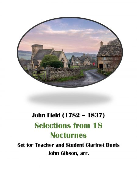 teacher and student clarinet duets John Field cover