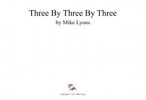 Brass Sextet – Three by Three by Three