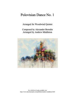 Polovtsian Dance No. 1 arranged for Woodwind Quintet
