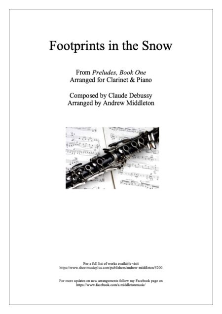 Clarinet Front cover 4