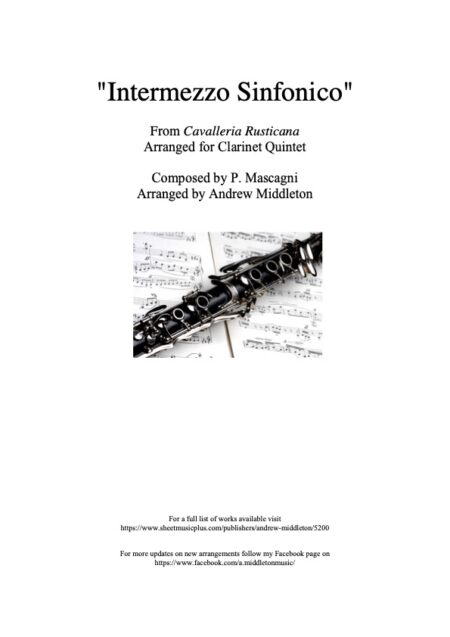Clarinet Front cover 5
