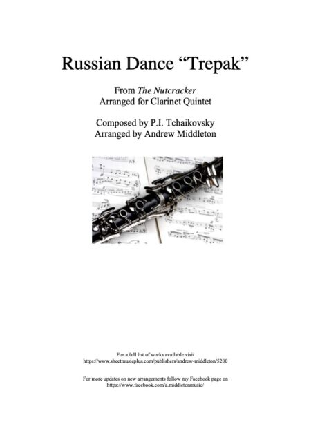 Russian Dance Front cover 1