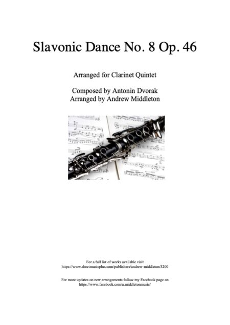 Clarinet Front cover 10