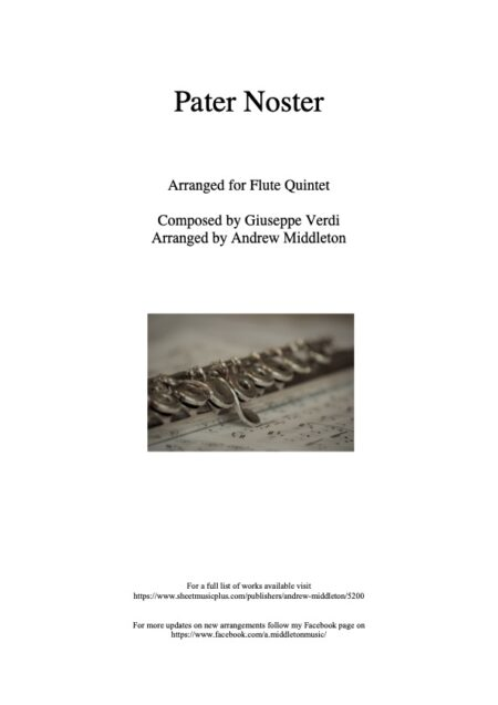 Flute Front cover