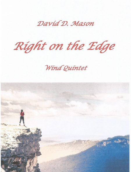 Right on the Edge Wind Quintet Front cover scaled