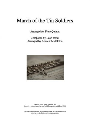 March of the Tin Soldiers arranged for Flute Quintet