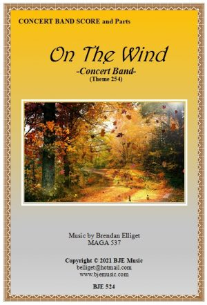 On The Wind – Concert Band