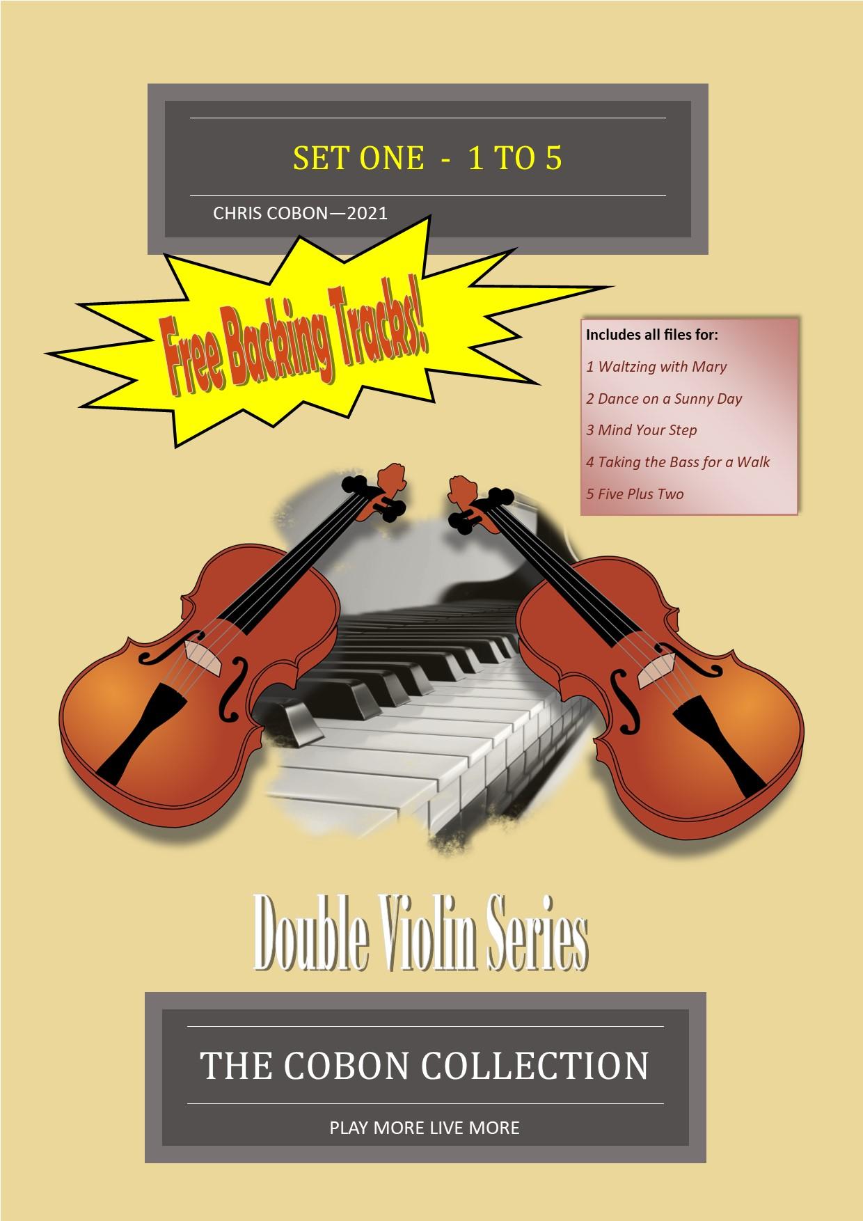 Double Violin Series SET 1 (No.1 to 5)