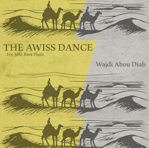 The Awiss dance – opus 13A – for Bass Flute solo