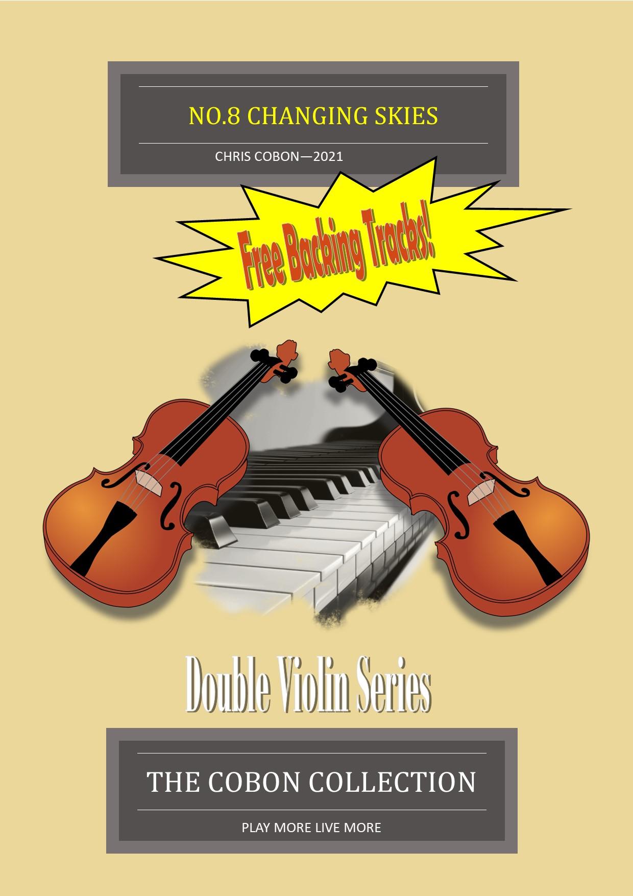 No.8 Changing Skies – Two Violins and Piano