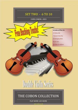 Double Violin Series SET 2 (No.6 to 10)