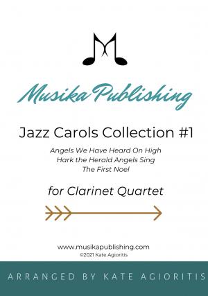 Jazz Carols Collection – Set One – Clarinet Quartet