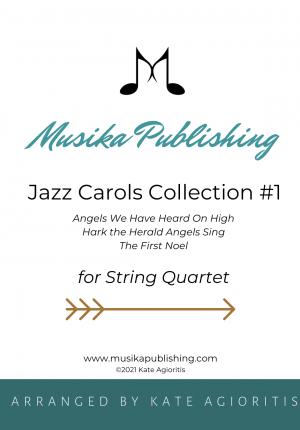 Jazz Carols Collection – Set One – String Quartet