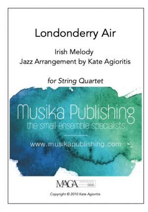 Londonderry Air – Jazz Arrangement for String Quartet