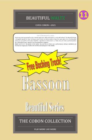 No.11 Beautiful Waltz (Bassoon)
