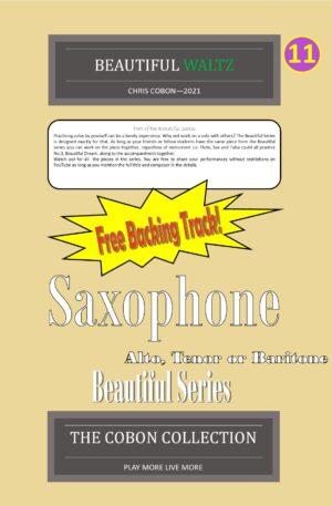 No.11 Beautiful Waltz (Alto, Tenor or Baritone Saxophone)
