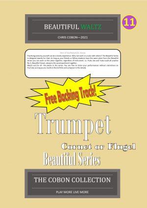 No.11 Beautiful Waltz (Trumpet, Flugel or Cornet)