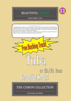 No.11 Beautiful Waltz (Tuba, Eb Bass or Bb Bass)