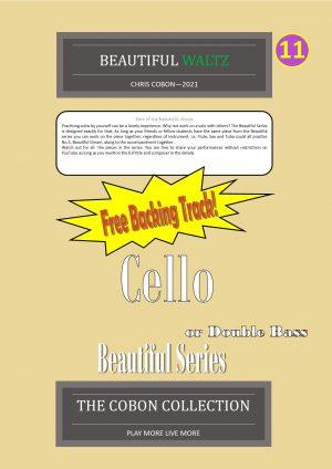 No.11 Beautiful Waltz (Cello or Double Bass)