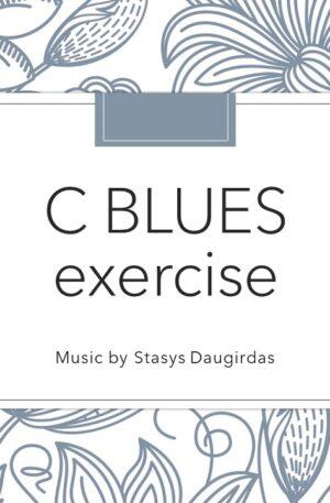 C Blues exercise