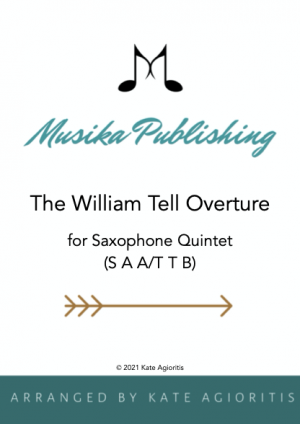 William Tell Overture for Saxophone Quintet