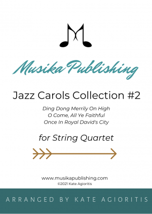 Jazz Carols Collection for String Quartet – Set Two