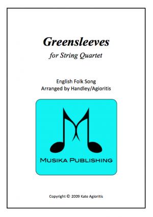 Greensleeves (What Child Is This?) – Jazz Arrangement for String Quartet