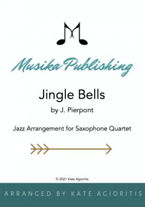 Jingle Bells – Jazz Arrangement for Saxophone Quartet