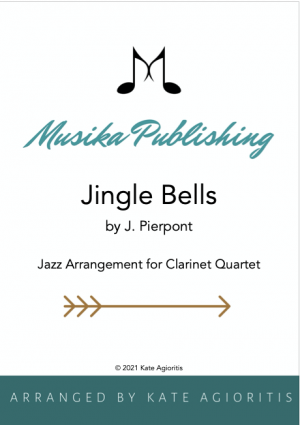 Jingle Bells – Jazz Arrangement for Clarinet Quartet