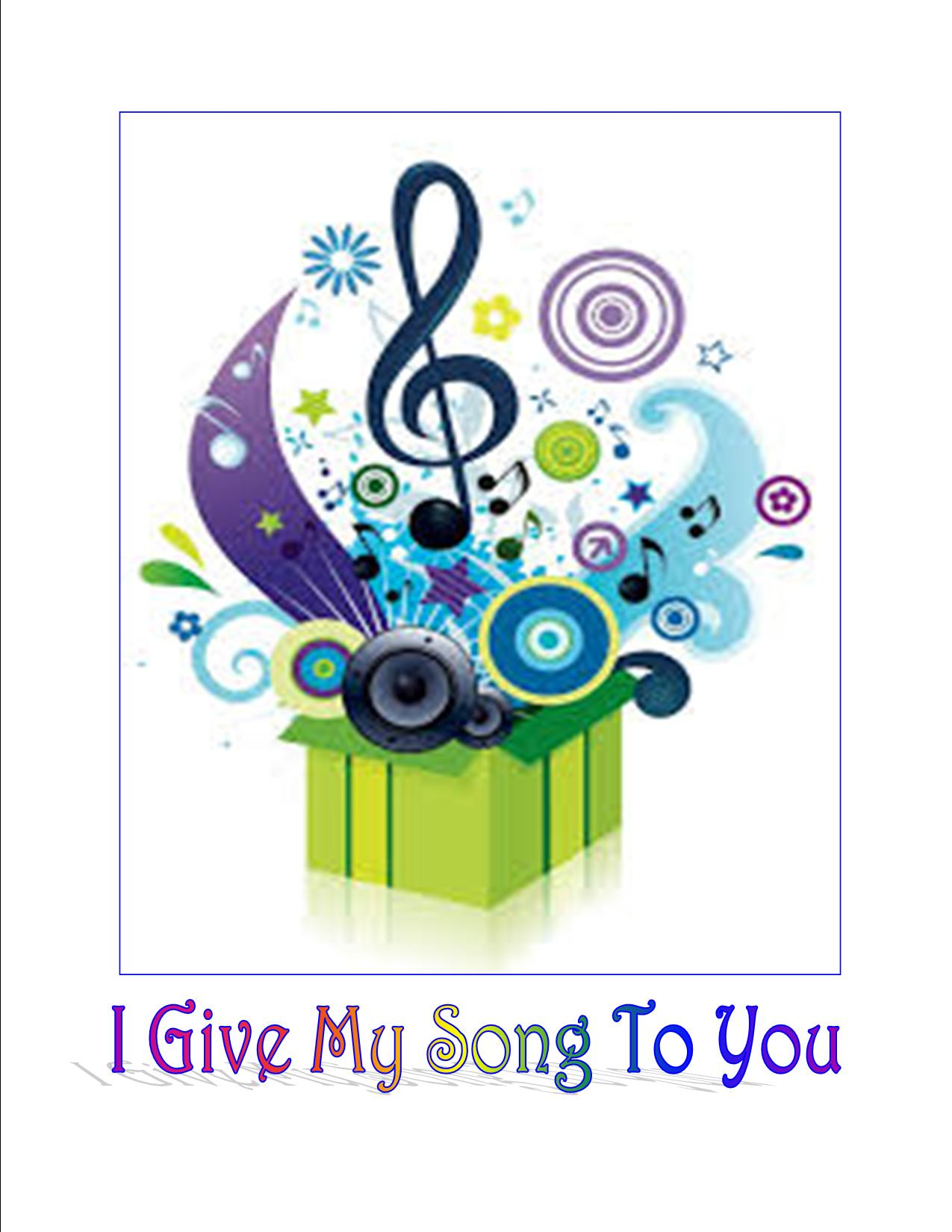 Cover I Give My Song To You