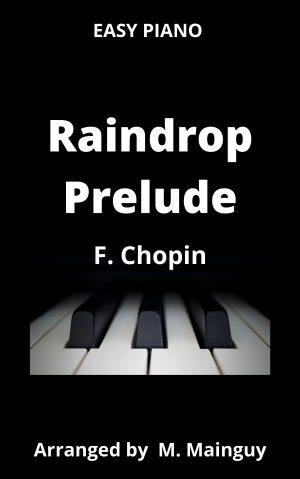 Raindrop Prelude – Easy Piano
