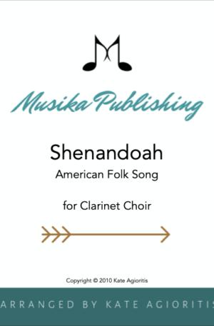 Shenandoah – Clarinet Choir (Quintet)