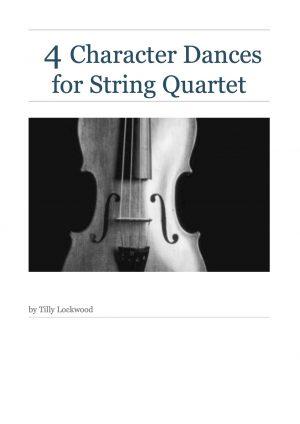 4 Character Dances for String Quartet