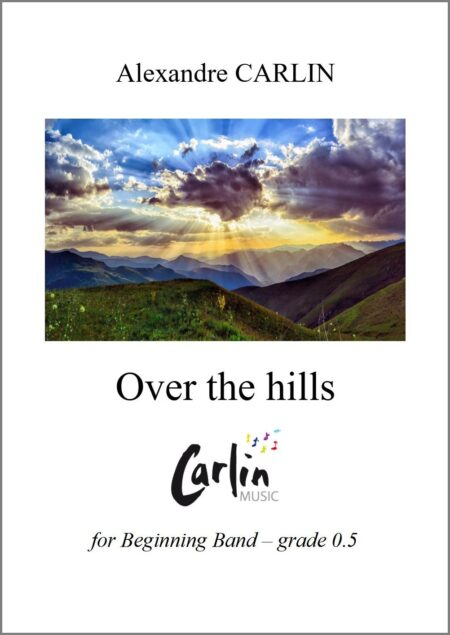Over the hills Webcover with border