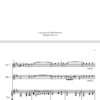 O Waly Waly, for Violin Duet and Piano
