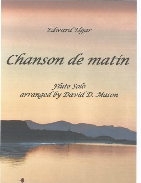 Chanson de matin Front cover scaled
