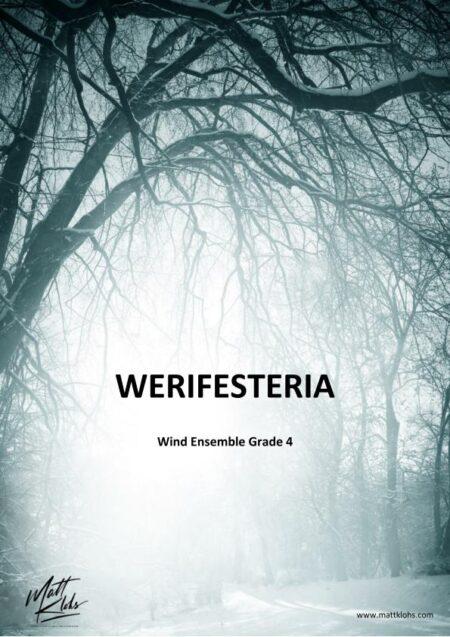 Score Cover Werifesteria MK page 001