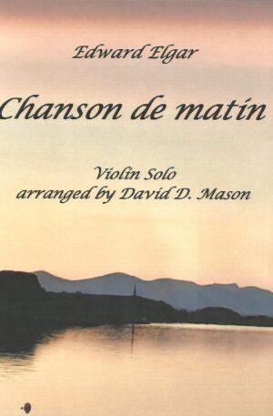 Chanson de matin, Op. 15, No.2 – Violin Solo