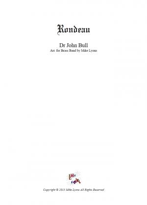 Brass Band – Rondeau in G – John Bull