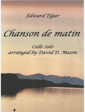 Chanson de matin, Op. 15, No.2 – Cello Solo