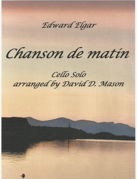 Chanson de matin (Cello front cover)