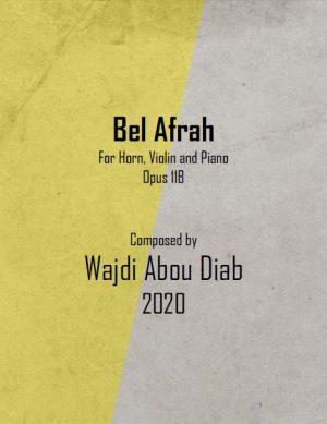 BEL AFRAH – HORN TRIO