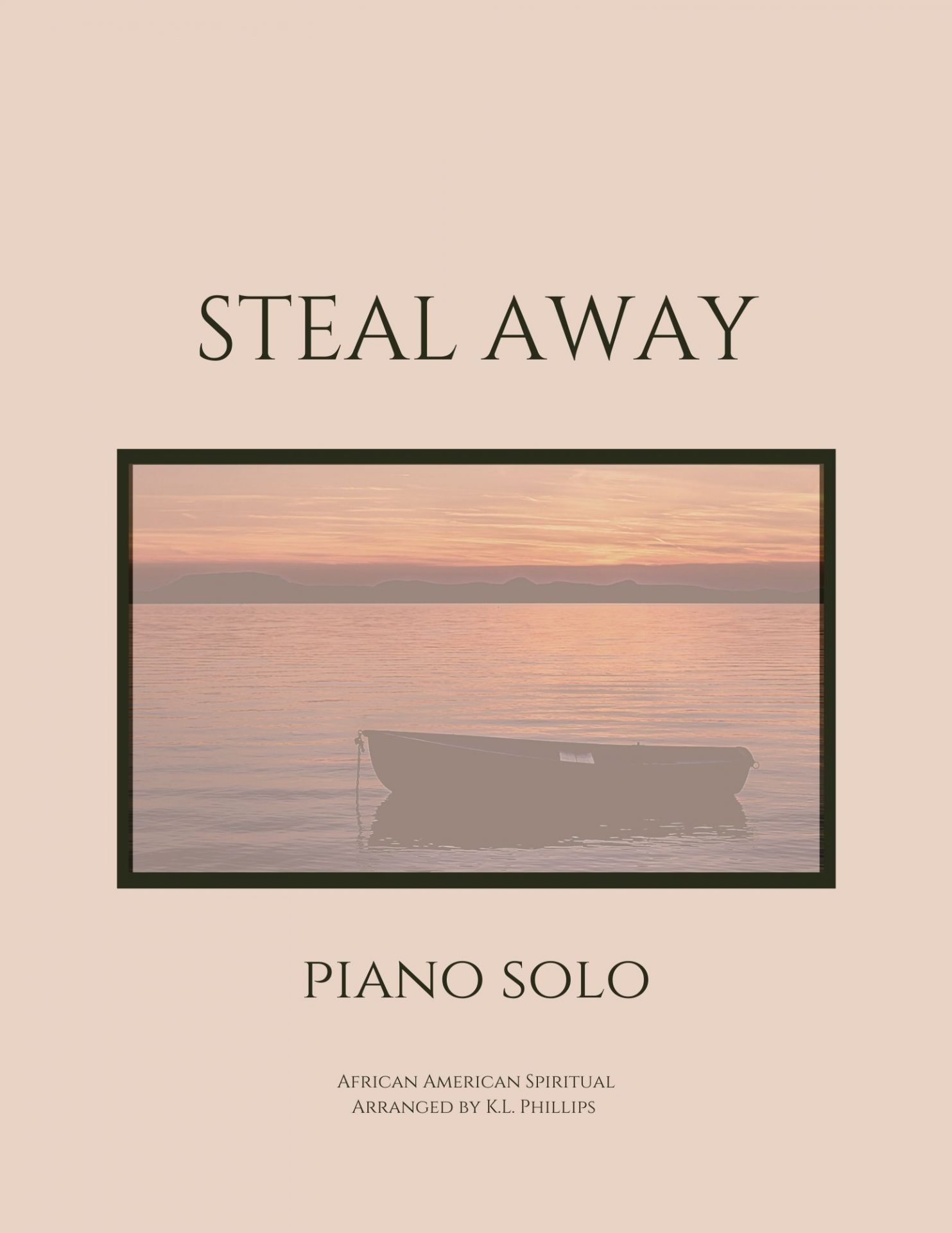 Steal Away - Piano Solo Webcover