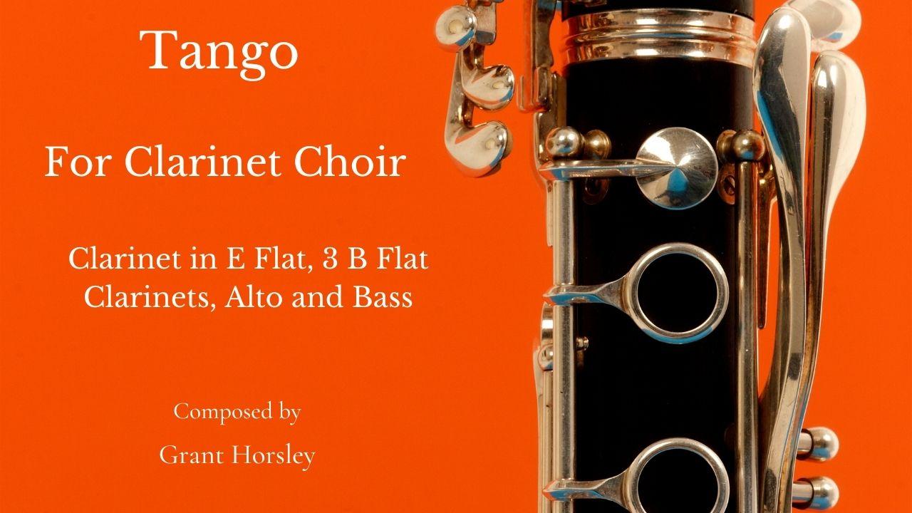 Tango for clarinet choir
