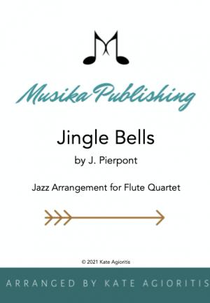 Jingle Bells – Jazz Arrangement for Flute Quartet