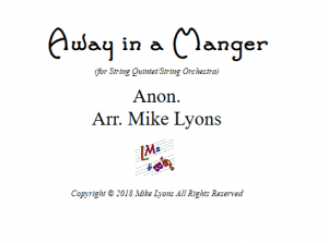 Away In a Manger – String Quintet