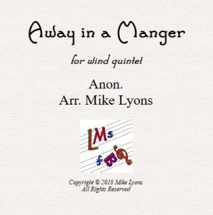 Away In a Manger – Wind Quintet