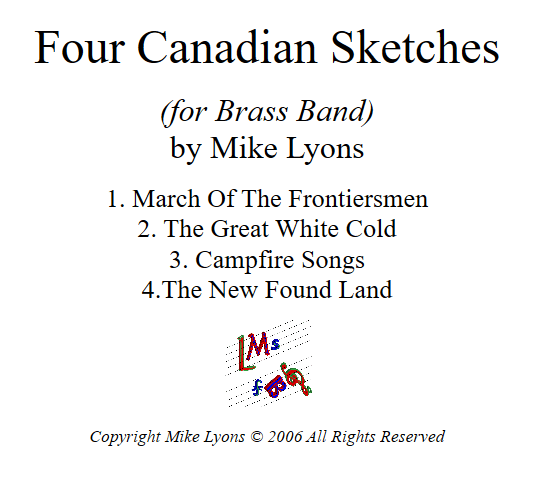 Brass Band – Four Canadian Sketches