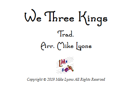 we 3 kings band