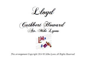 Brass Band Hymn – Lloyd